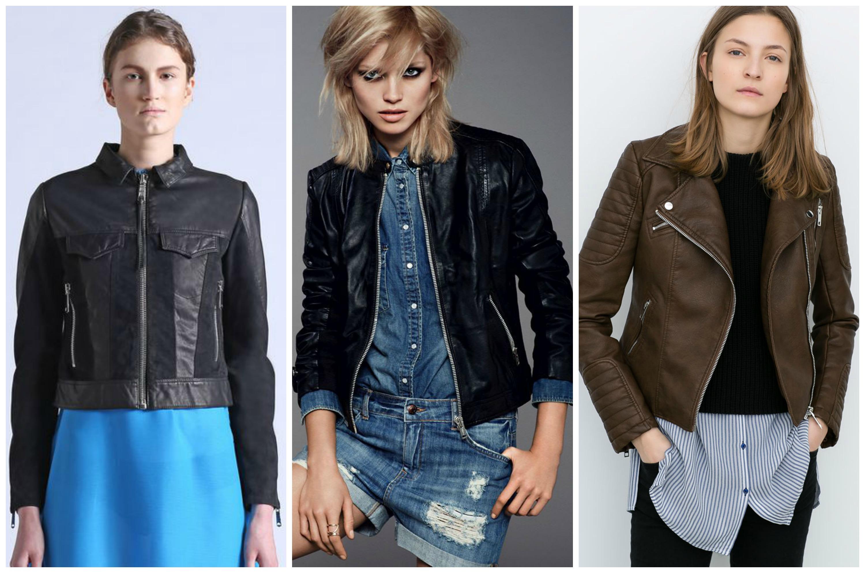 Кожаные куртки превратились в классику