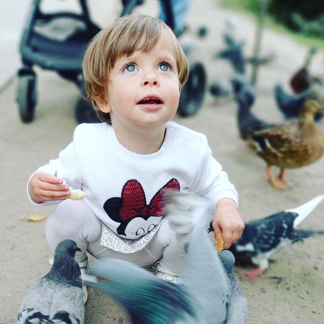 Наталья Холоденко опубликовала фото дочери