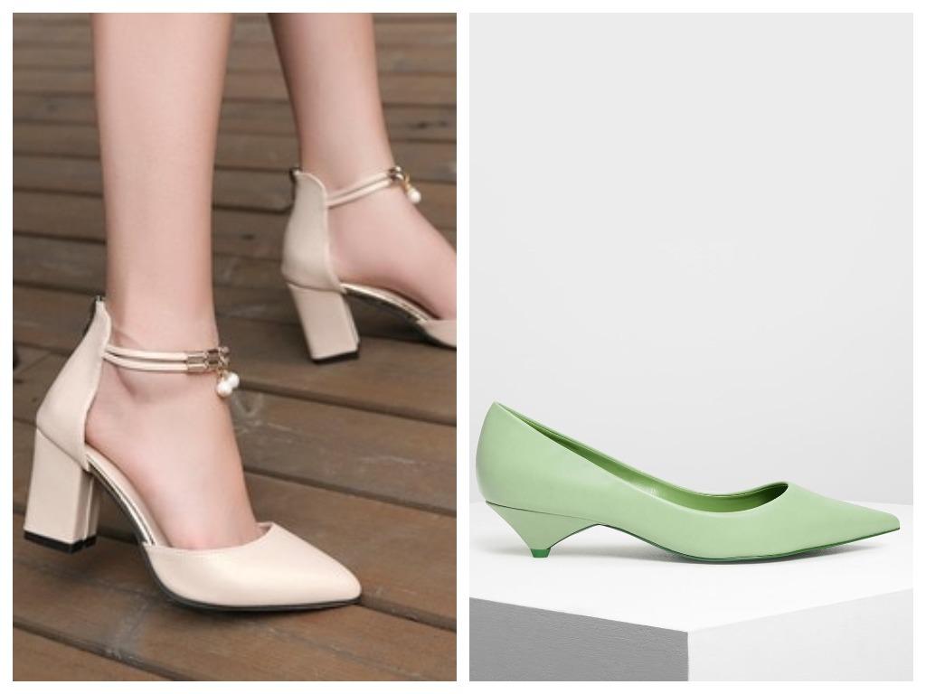 Квадратный каблук меняем на kitten heels