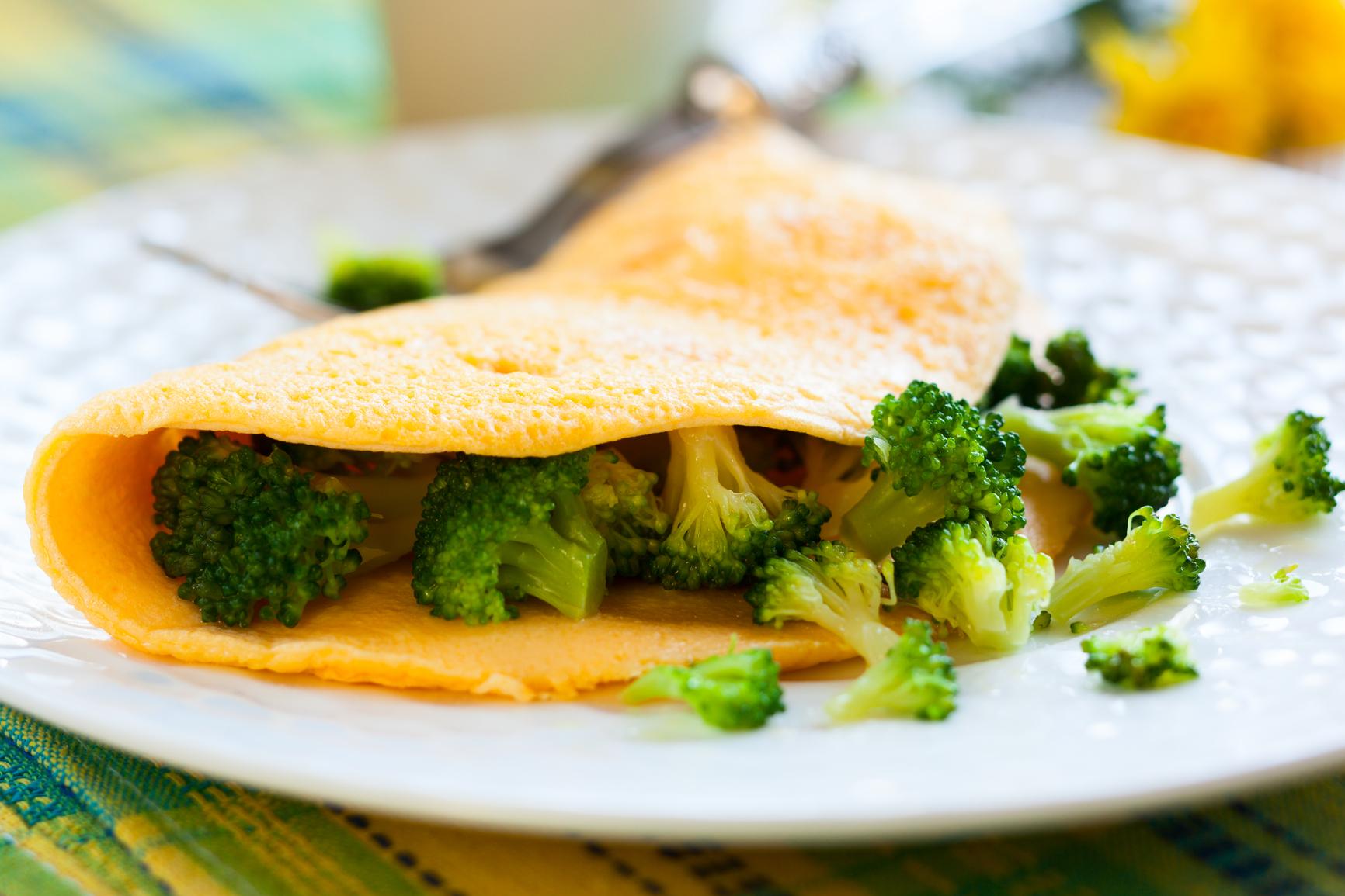 простые рецепты салатов из брокколи