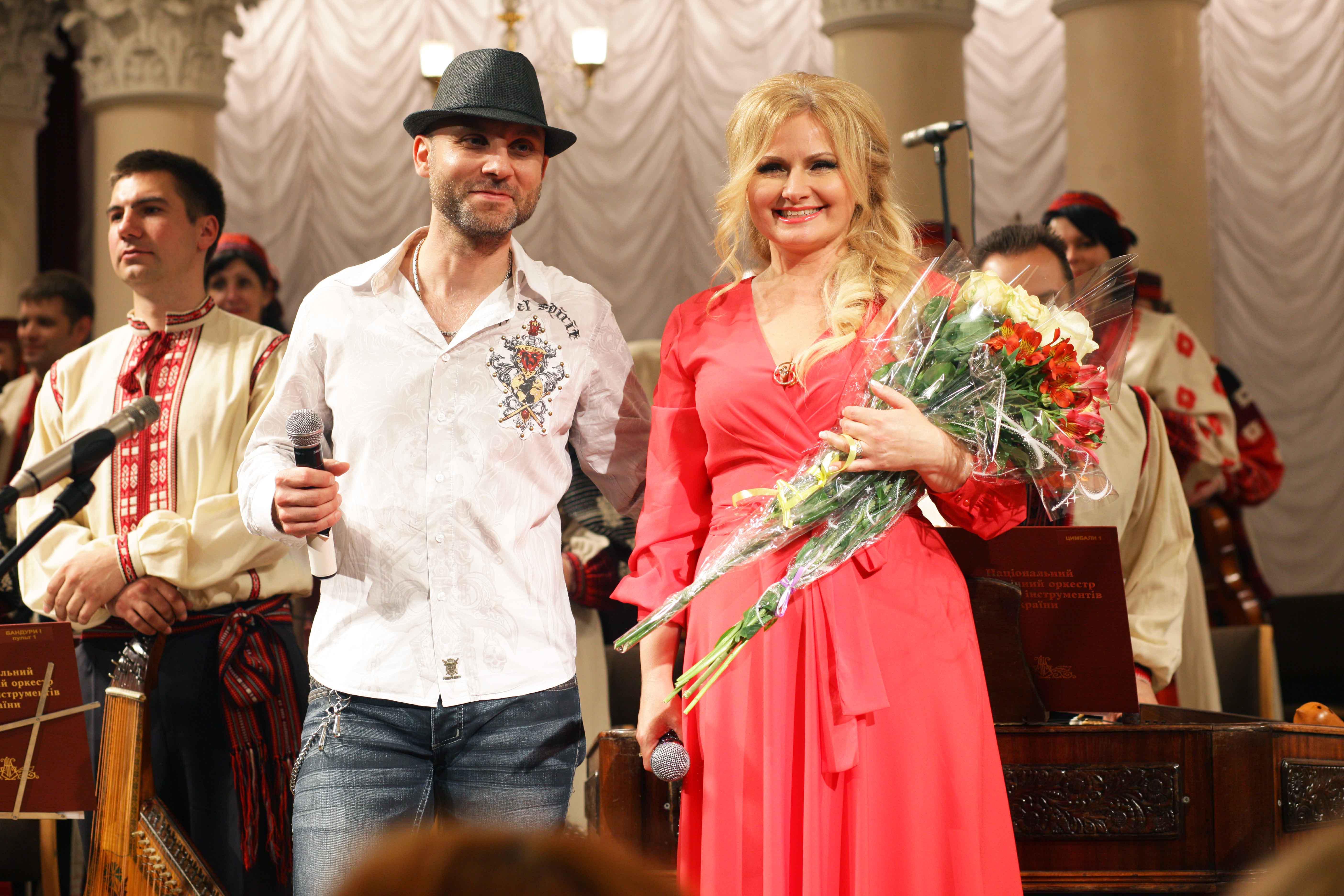 Вадим Красноокий и Наталия Шелепницкая