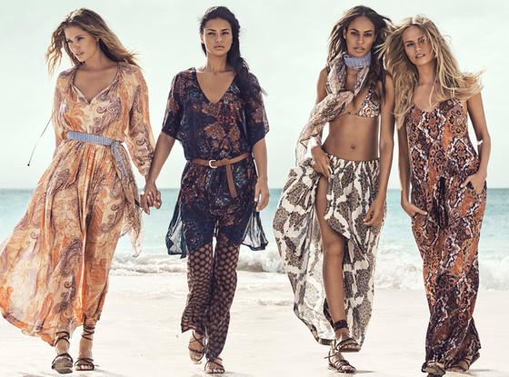Модели примерили несколько стильных летних образов от H&M