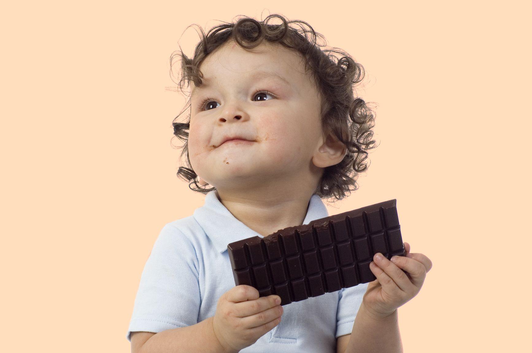 Маленькие сладкоежки: Чем полезен шоколад для детей