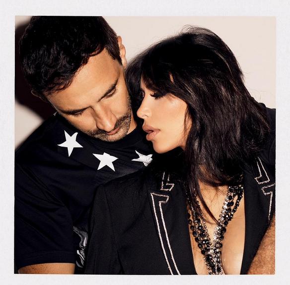 Сладкая парочка: Рикардо Тиши и Ким Кардашян в фотосессии для Sorbet