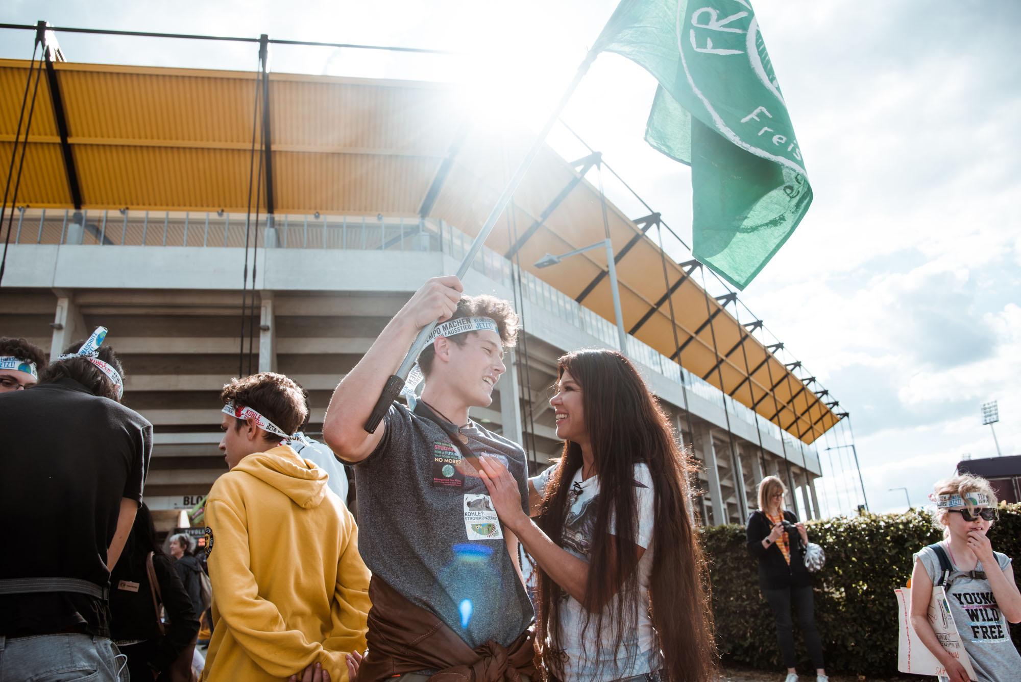 Руслана выступила перед школьниками и студентами в Германии