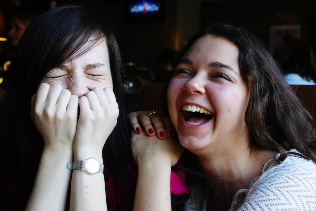 Чтобы привлечь удачу нужно чаще смеяться