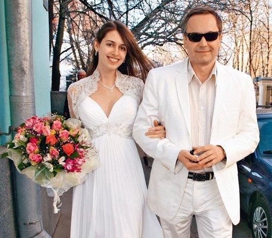 Андрей Соколов с женой Ольгой