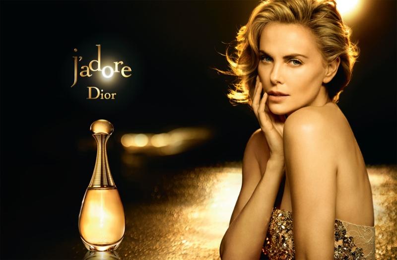Шарлиз Терон украсила юбилейную рекламную кампанию Dior