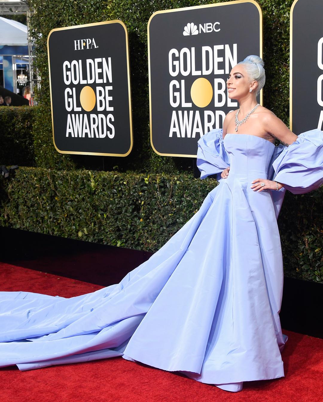 Леди Гага на вручении