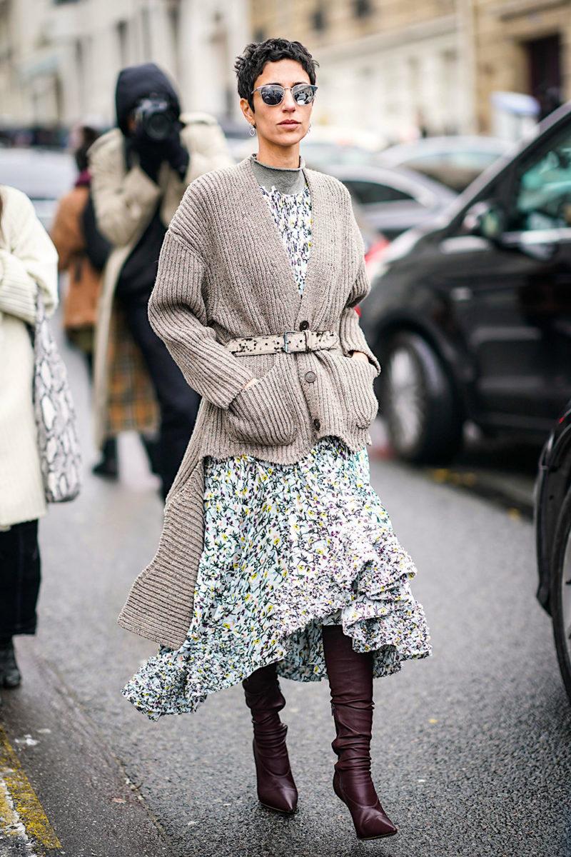 Обязательные платья на зиму 2019/20: Цветочное