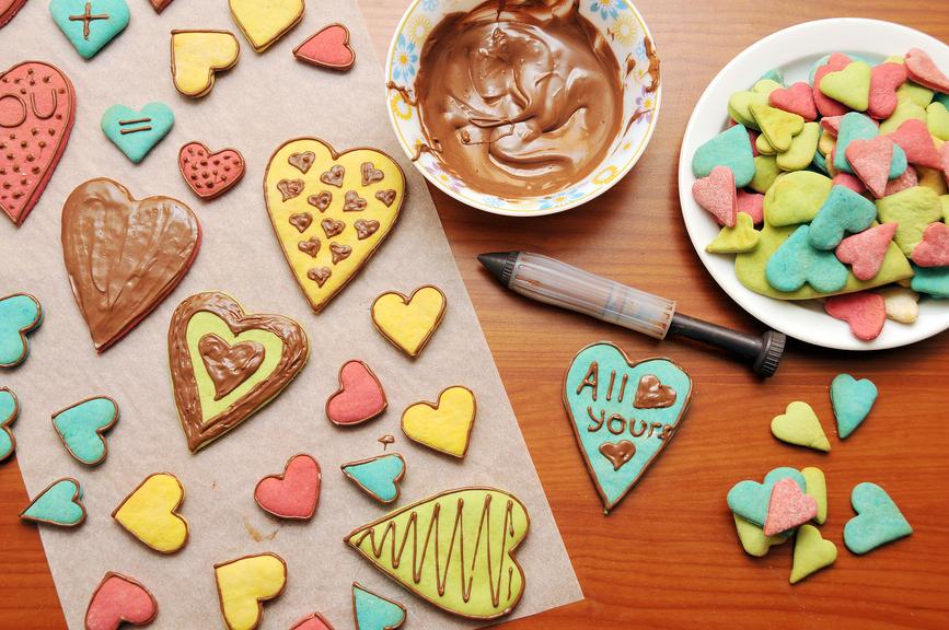 Рецепт печенье сердечки в форме на газу