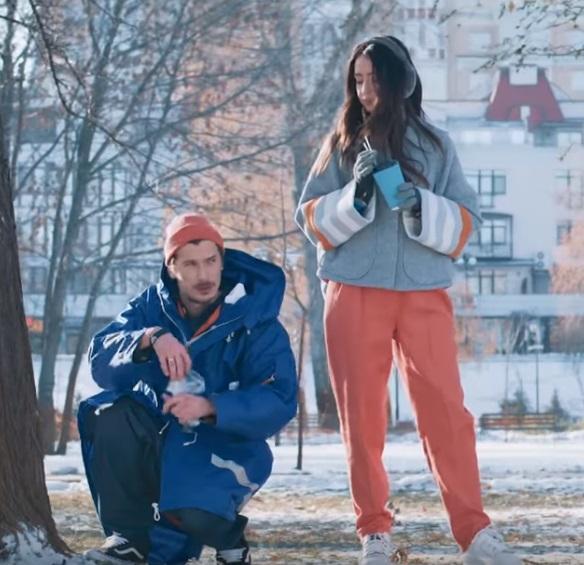 Надя Дорофеева и Позитив в социальном ролике