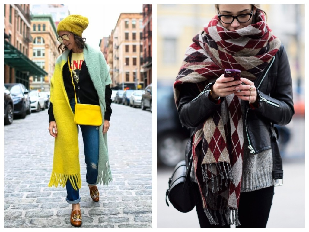 Модные способы как завязь шарф - сделать акцентом образа