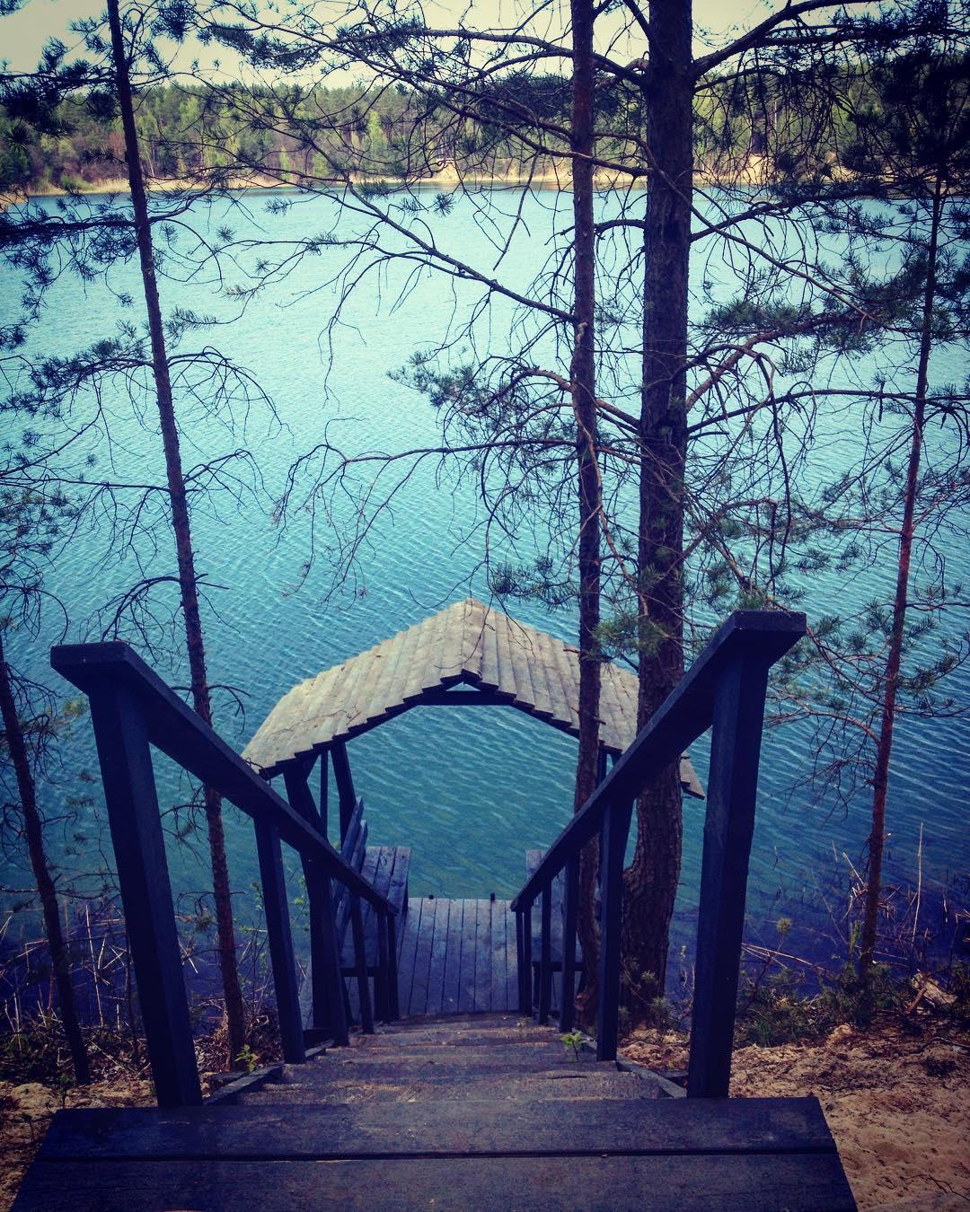 Куда поехать на Троицу в Украине: Голубые озера на Черниговщине