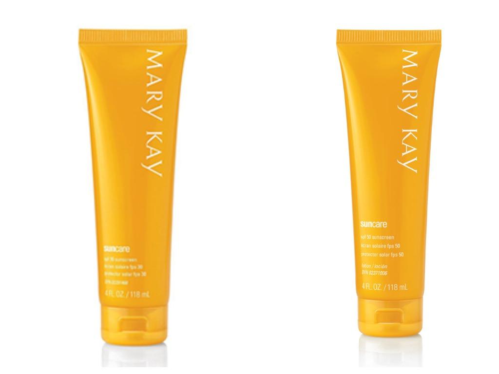 Солнцезащитные кремы SPF 30 и 50 – Mary Kay