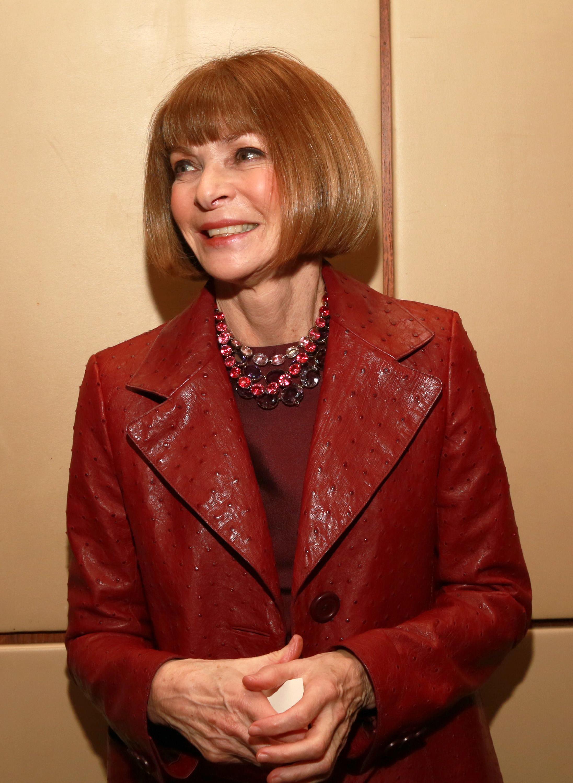 Анна Винтур, главный редактор американского Vogue