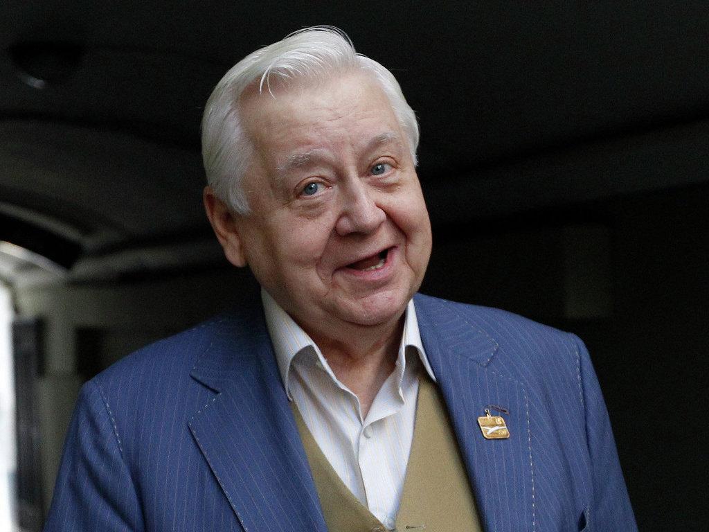 Российский актер и режиссер Олег Табаков