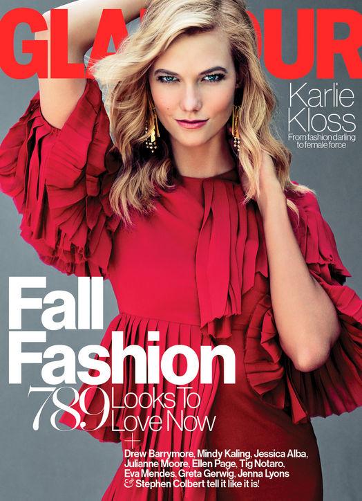 Карли Клосс в новой модной фотосессии