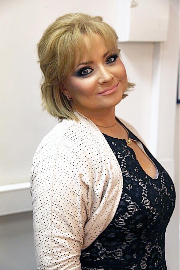 Российская актриса Светлана Пермякова