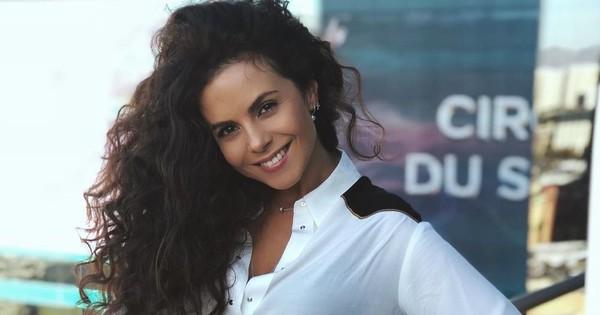 Почти в белье и с колумбийским красавцем: NK показала фото с концерта MALUMA