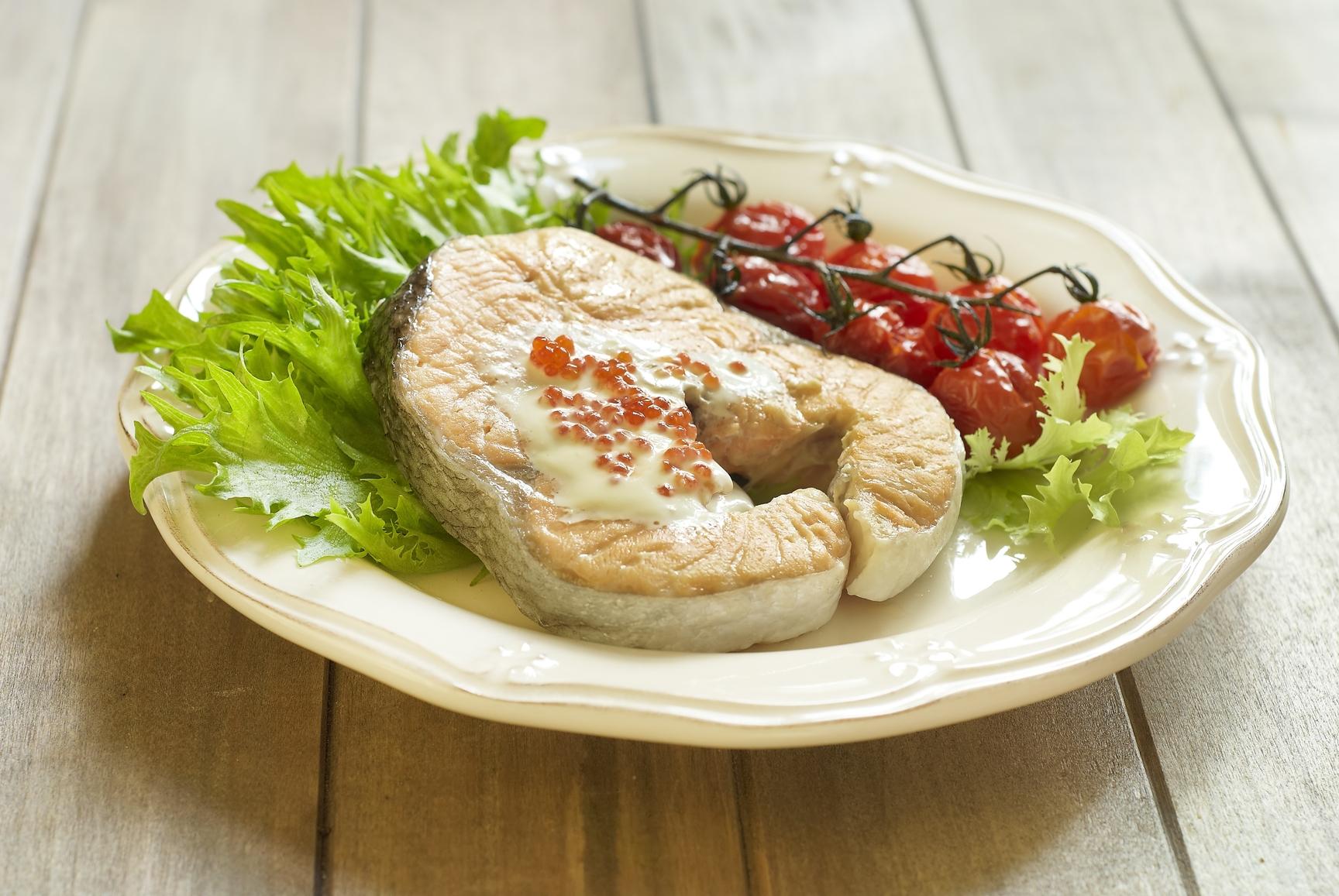 Семга под сливочным соусом рецепт с фото