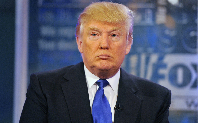 Американский бизнесмен и политик Дональд Трамп