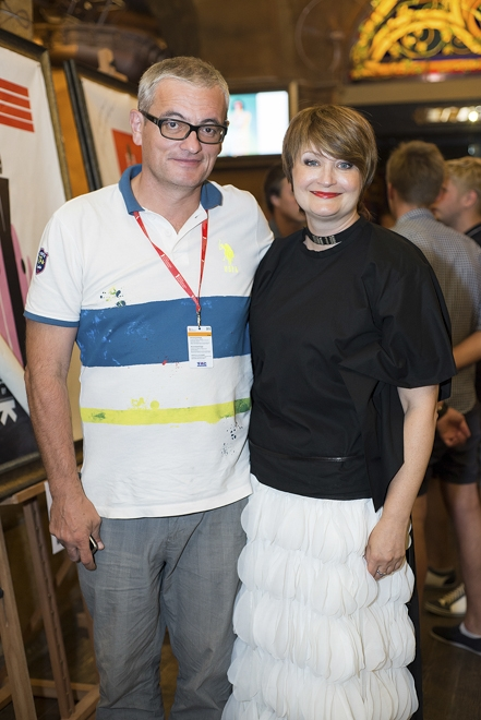 Организаторы UFW Ирина Данилевская и Владимир Нечипорук