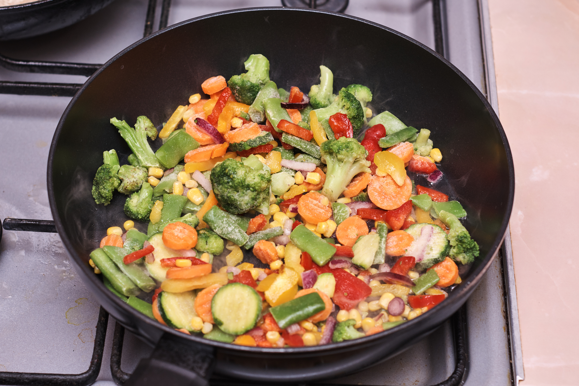 Готовим сытную фасоль по-монастырски с овощами