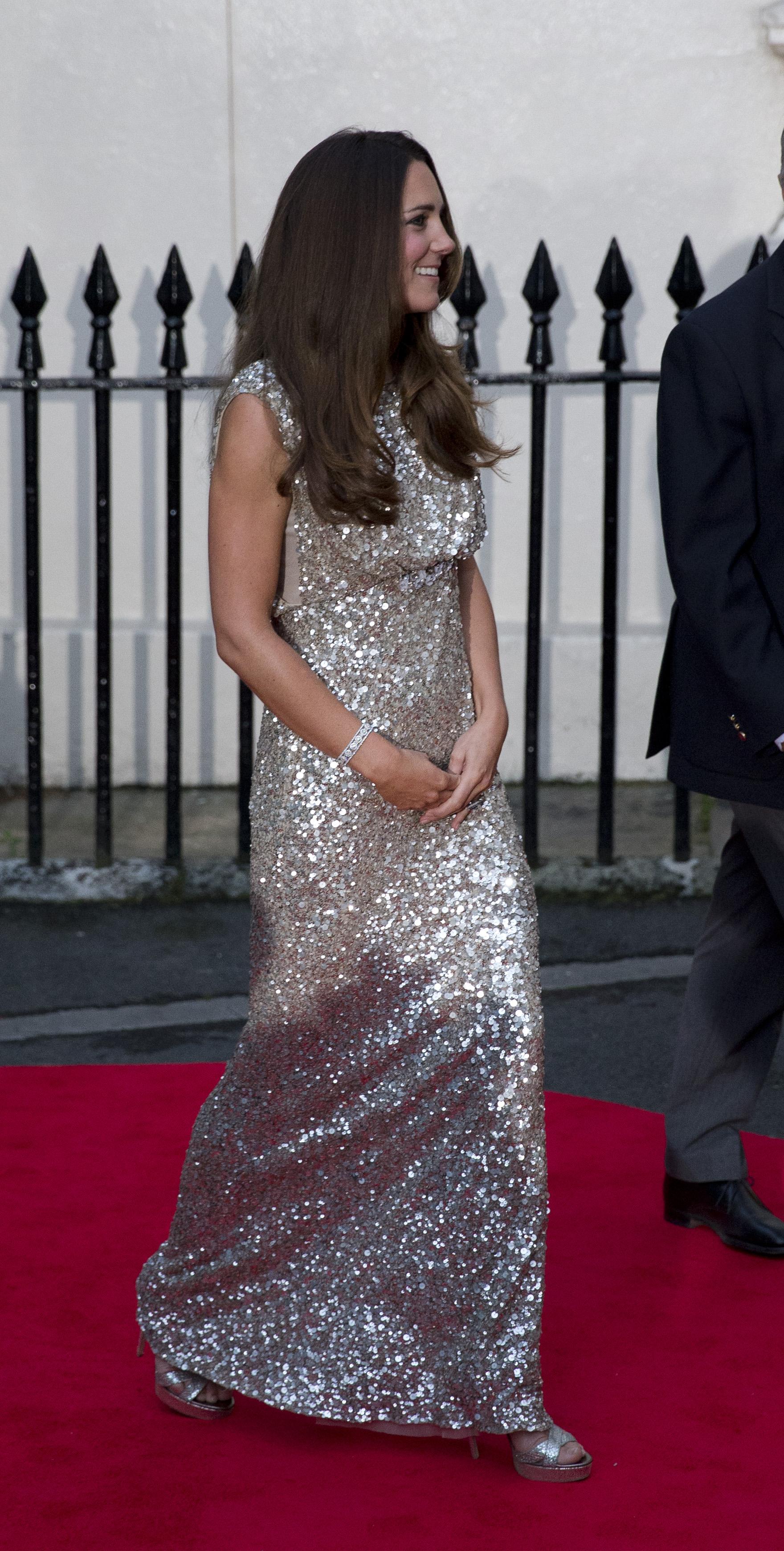 Кейт Миддлтон в платье Jenny Packham  на церемонии Tusk Conservation Awards  в Лондоне