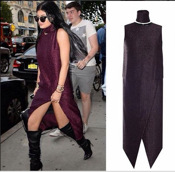 Сестра Ким Кадрашян похвасталась платьем от украинского бренда BEVZA