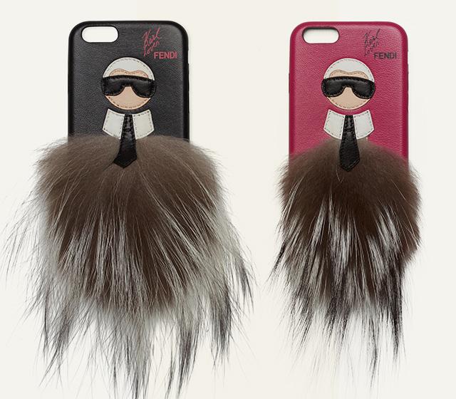 Дизайнеры создали чехлы для телефонов с портретом Карла Лагерфельда