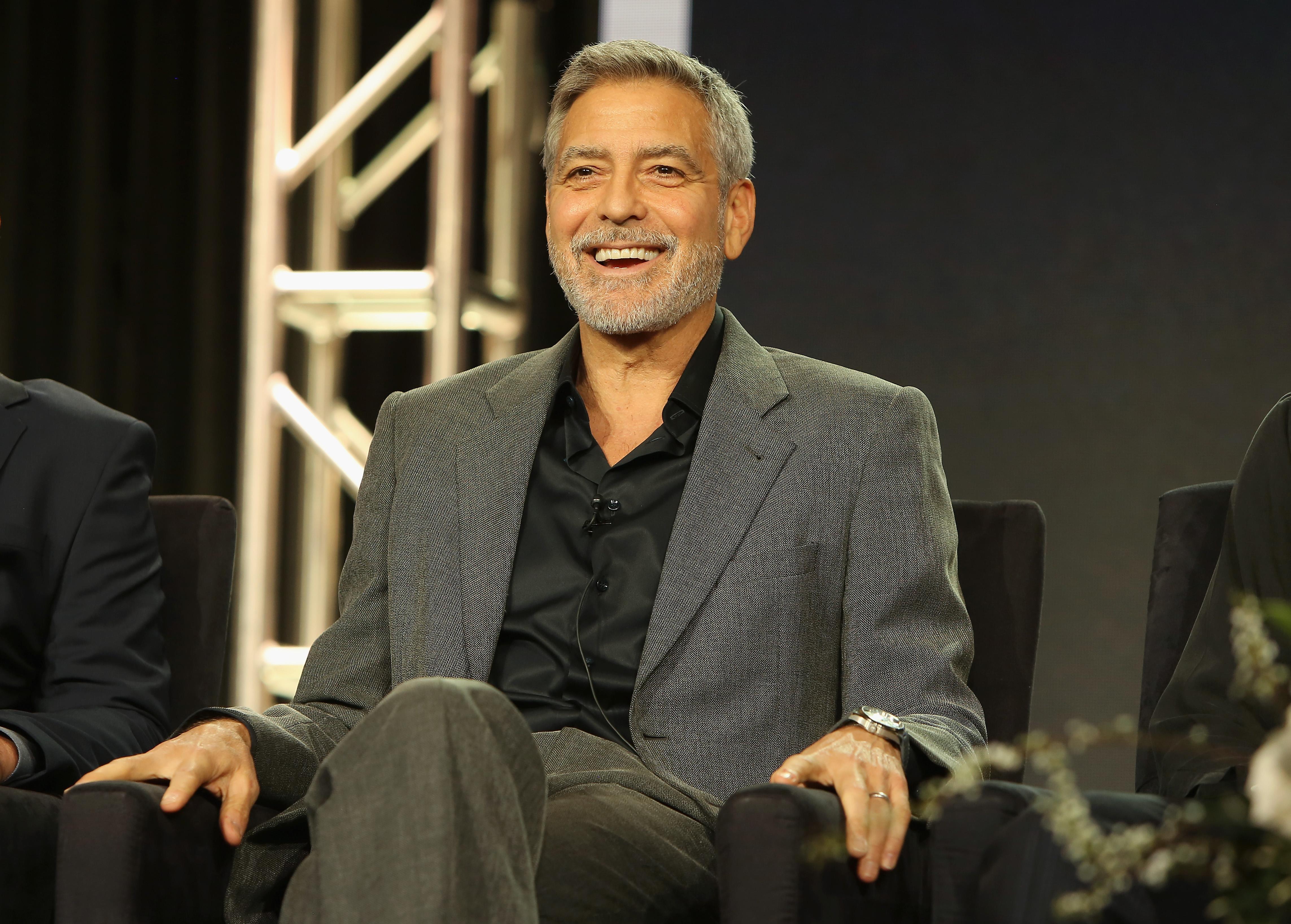Резко похудевший Джордж Клуни попал в больницу