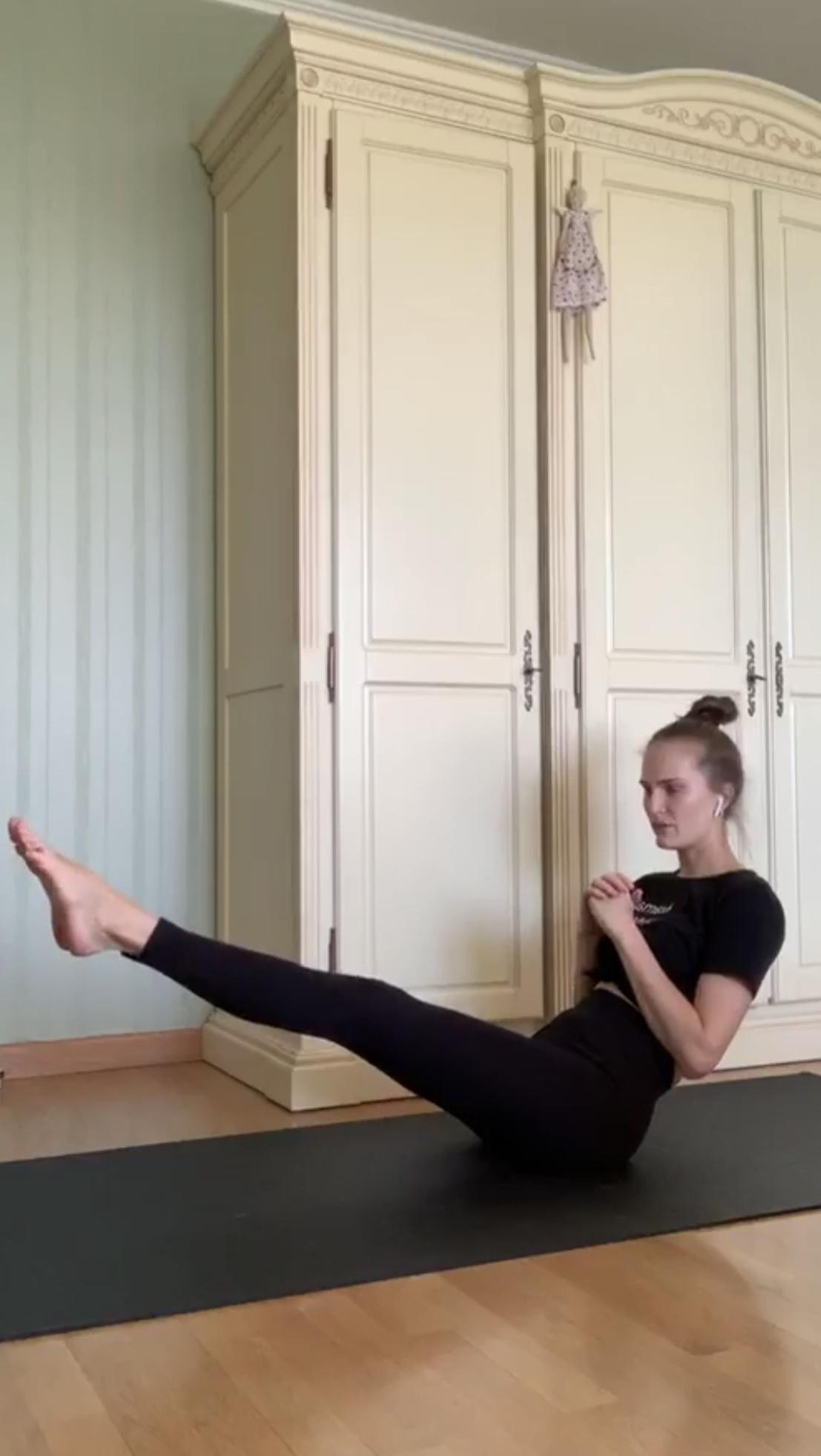 Тренировка на каждый день: комплекс упражнений от Аллы Костромичевой