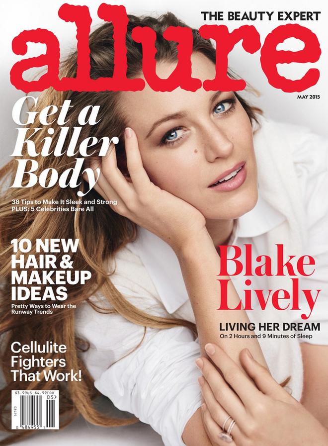 Блейк Лайвли украсила обложку американского журнала Allure