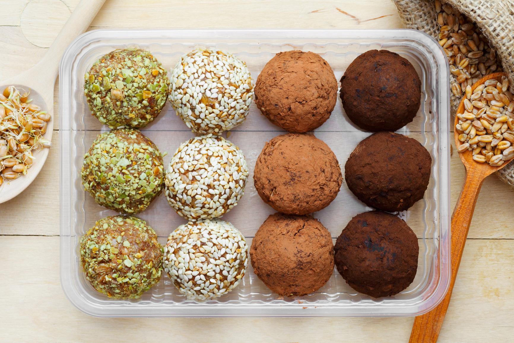 Конфеты из орехов в домашних условиях рецепт