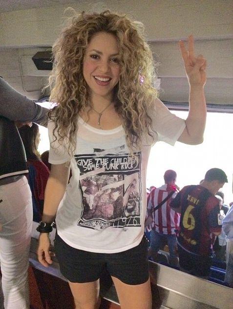 Колумбийская артистка Шакира