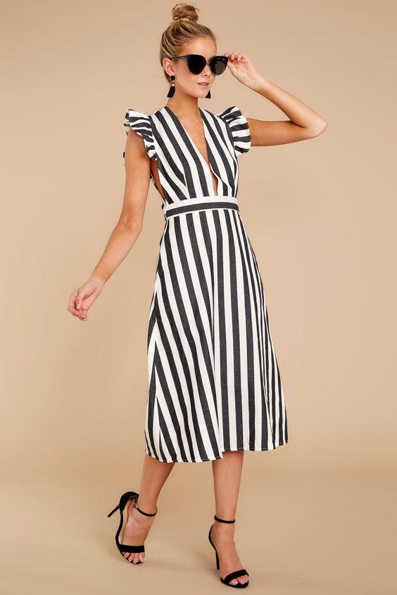5 стильных сочетаний черного и белого цвета в одежде