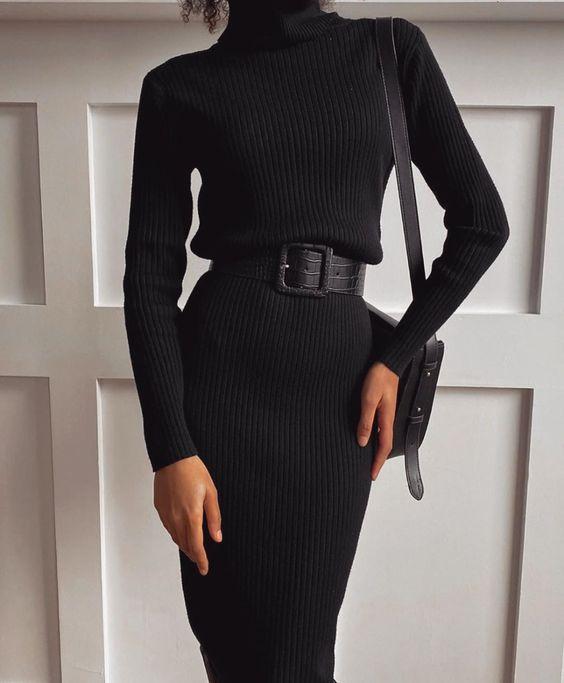 Черное платье - элемент базового гардероба