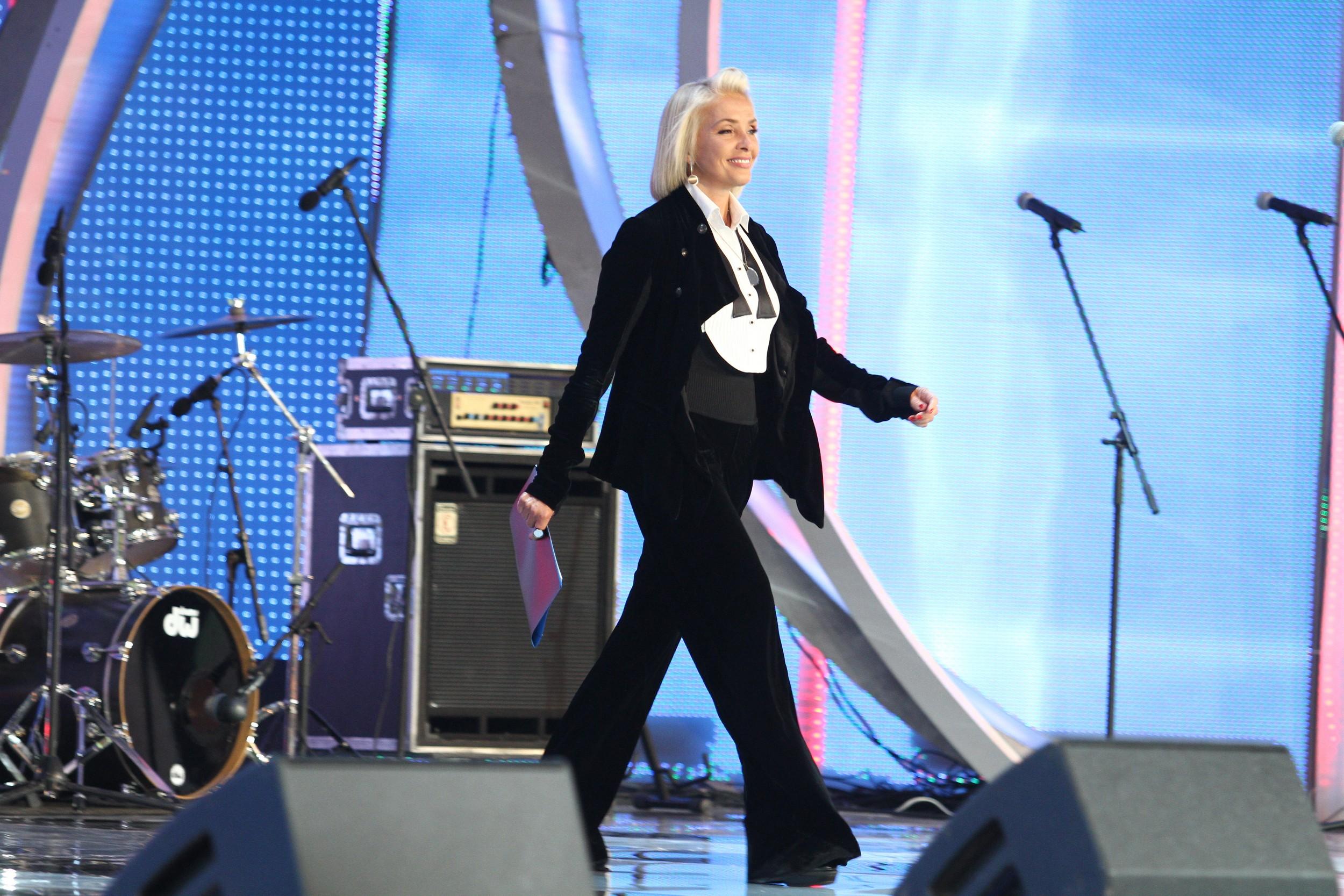 Певица Лайма Вайкуле