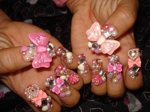 Поделки из ногтей
