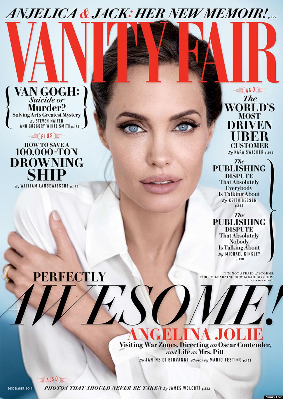 Голливудская актриса Анджелина Джоли украсила обложку Vanity Fair
