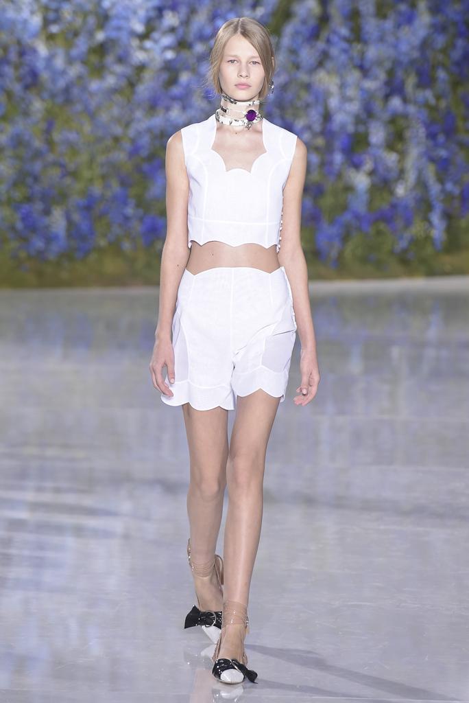 Dior весна-лето 2016