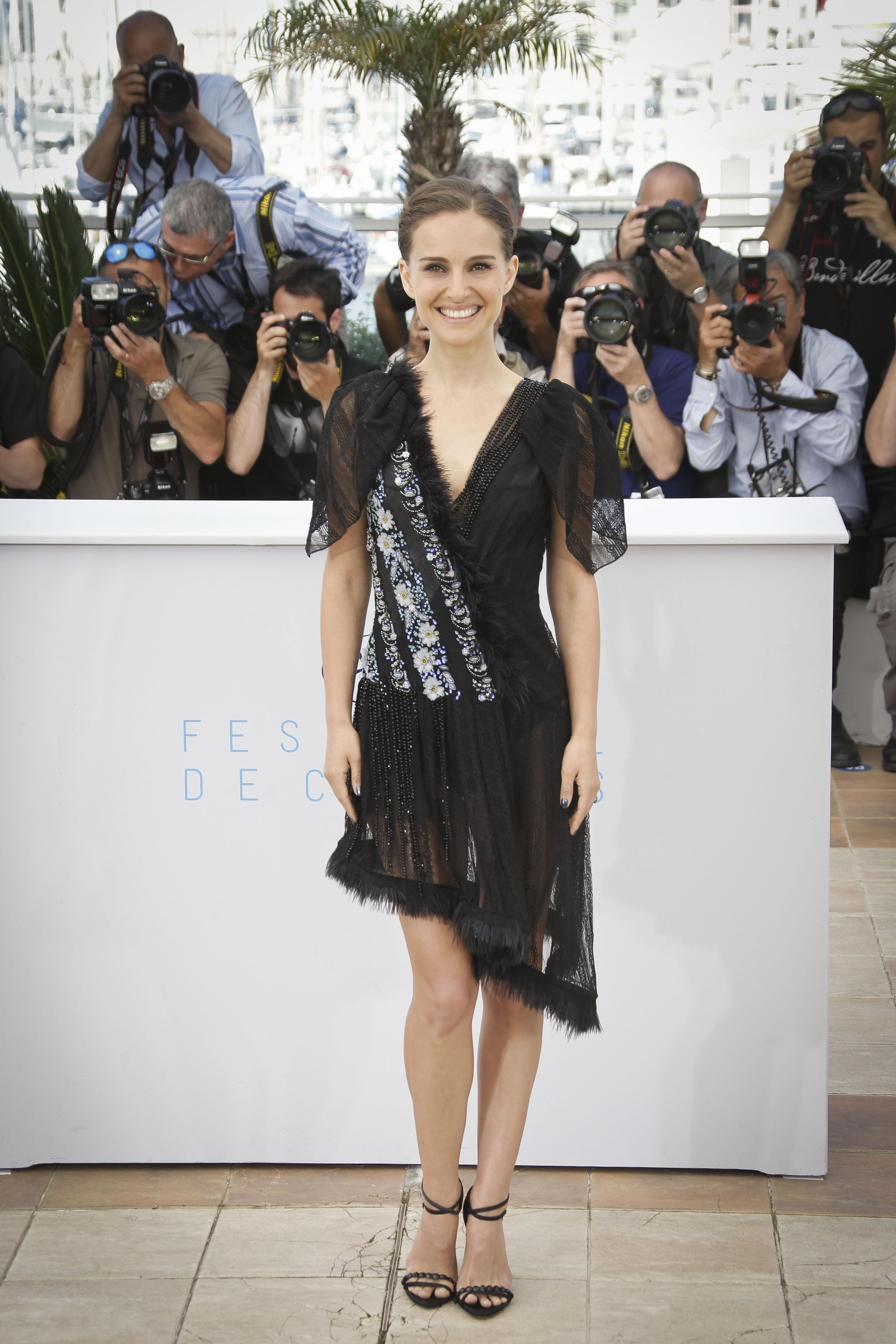 Актриса Натали Портман поразила своим откровенным выходом в каннах