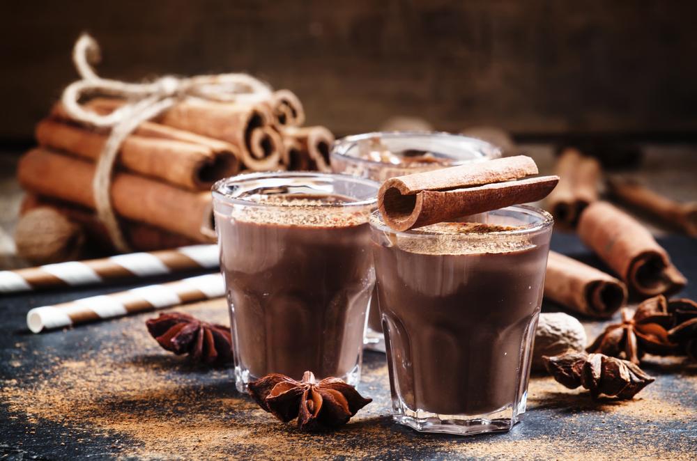 В составе какао содержится более 300 минералов – калий, кальций, цинк, железо, марганец