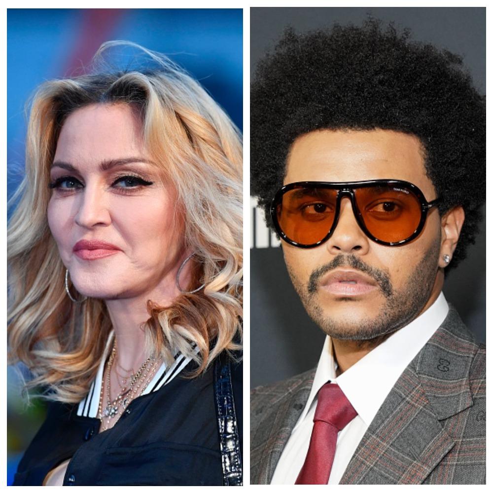 Мадонна и The Weeknd