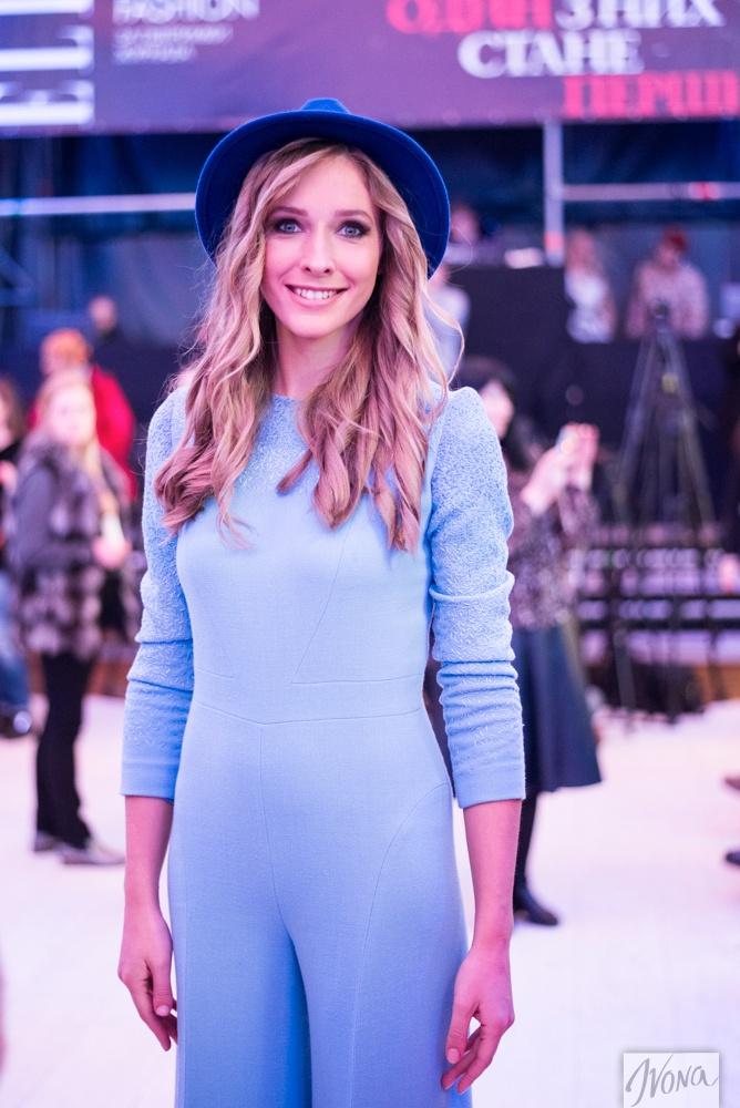 Неделя моды в Украине: Катя Осадчая покорила стильным образом