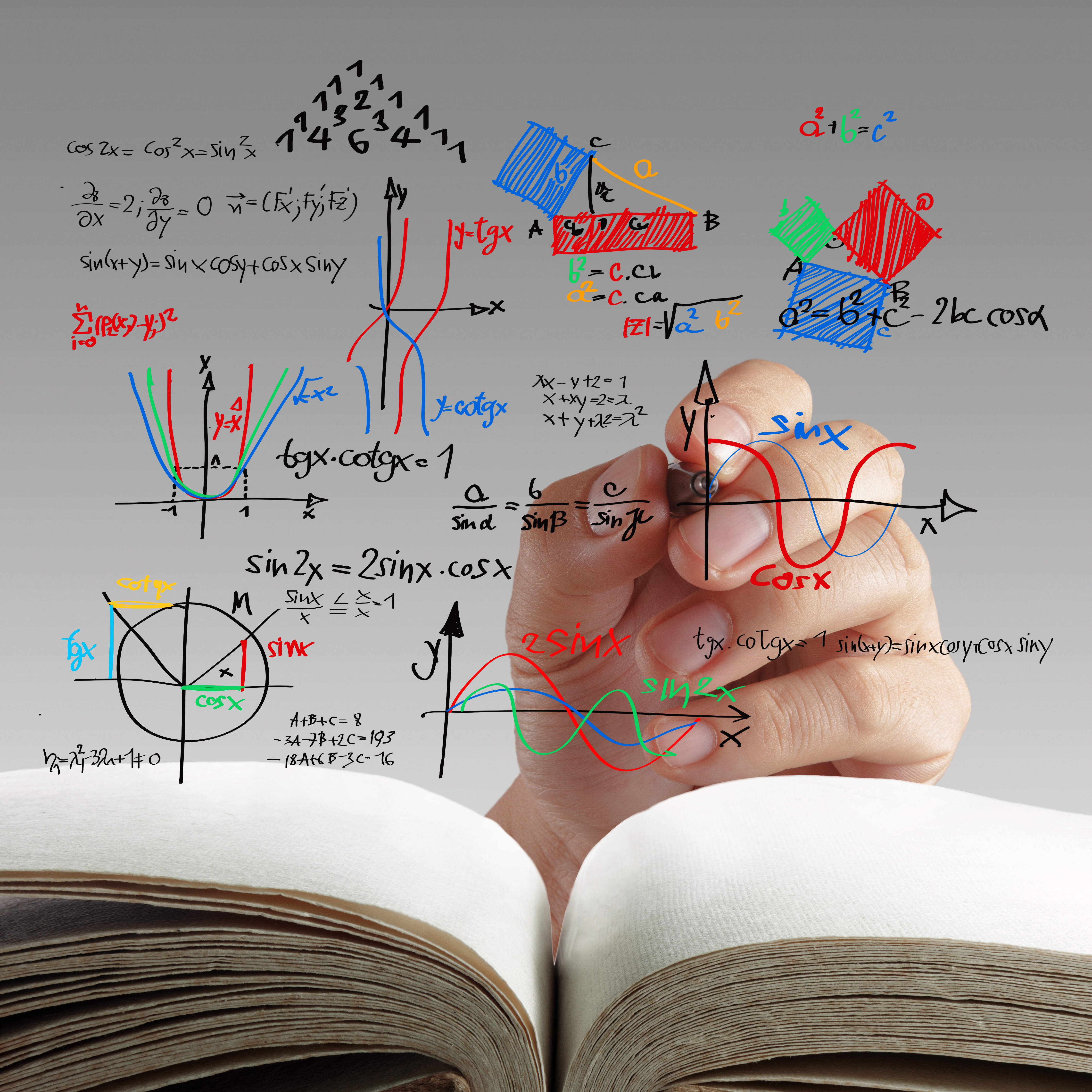 тест по математике