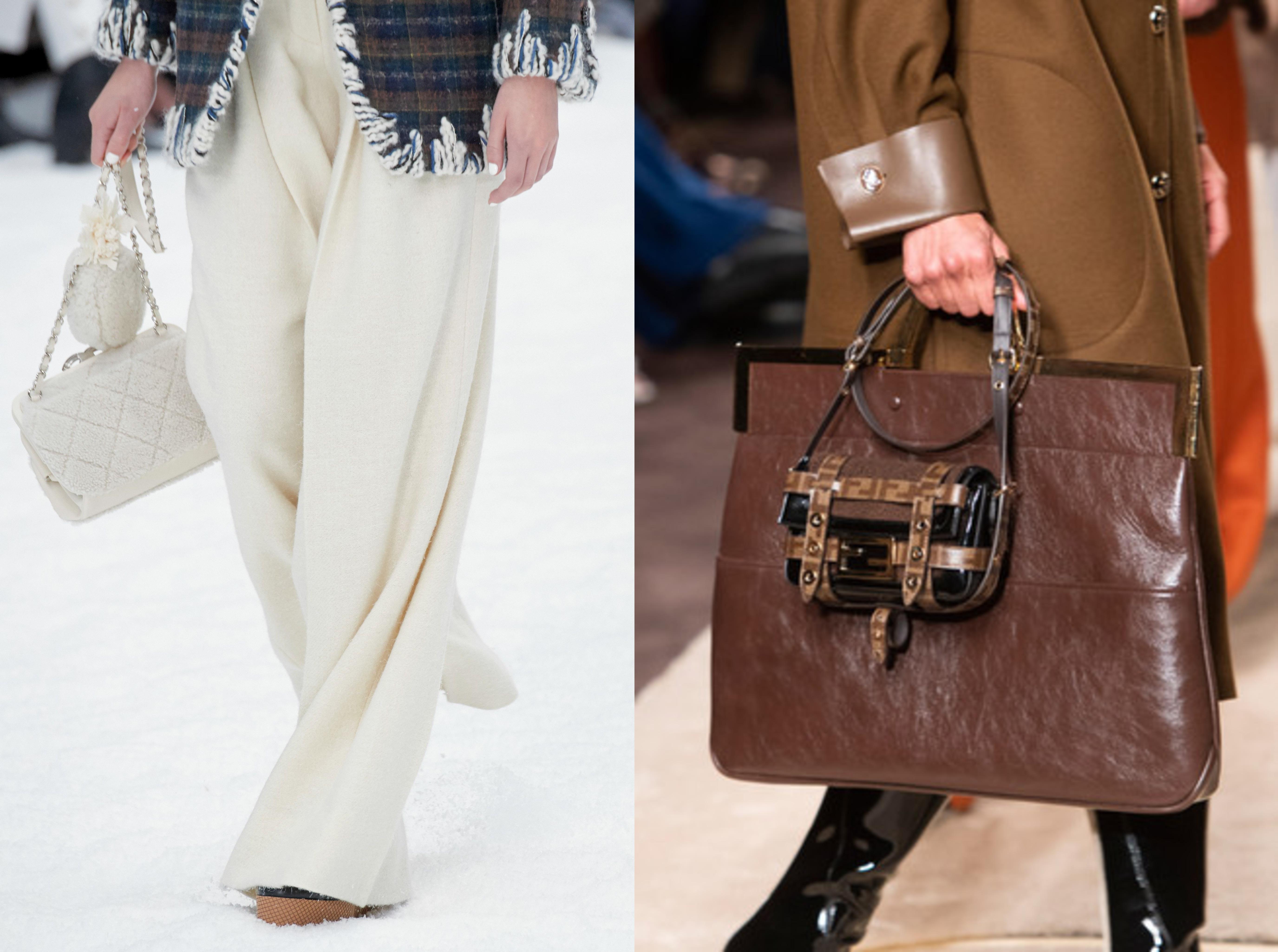 Носите вместе несколько сумок - удобно и модно