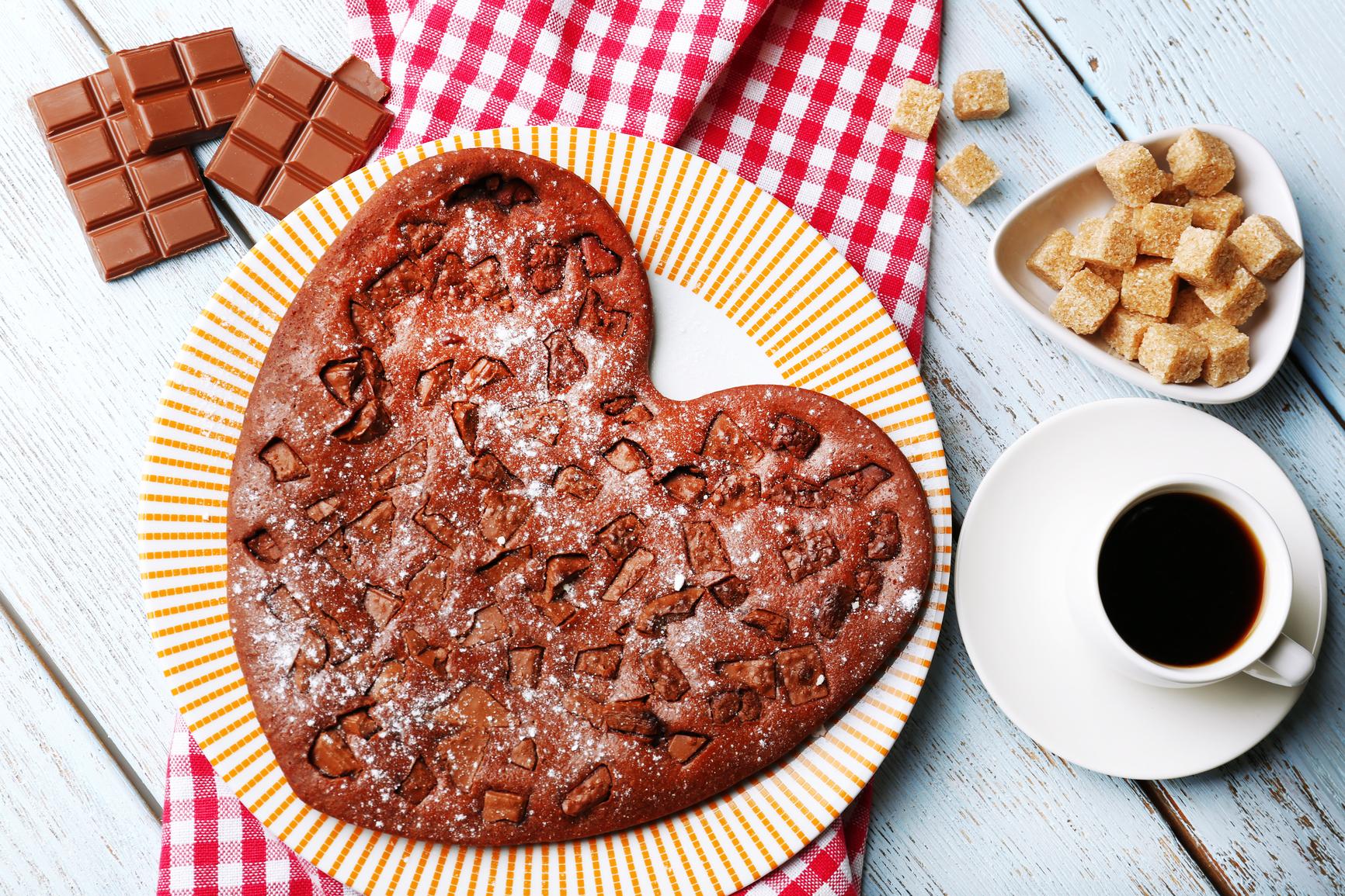 Рецепты тортов в виде сердца с фото