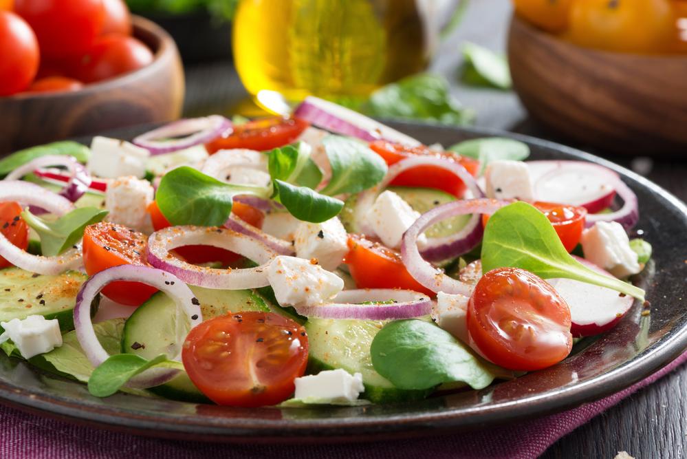 Легкиеы салатов на природу